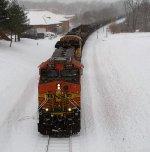 BNSF 5616 (06 December 2013)