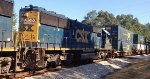 CSX SD50-2 8520 runs second