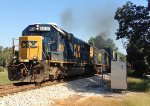 CSX SD50-2's 8576 and 8520 working hard