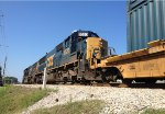 CSX SD50-2's 8576 and 8520 wait for green at mile marker 19