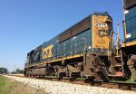 CSX SD50-2 8576 waits for green