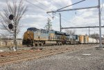CSX ET44AH #3291 on Q300