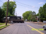 NS 2628 through the Woodbridge Ave. crossing