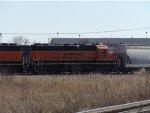BNSF GP38-2 2107
