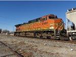 BNSF C44-9W 4461