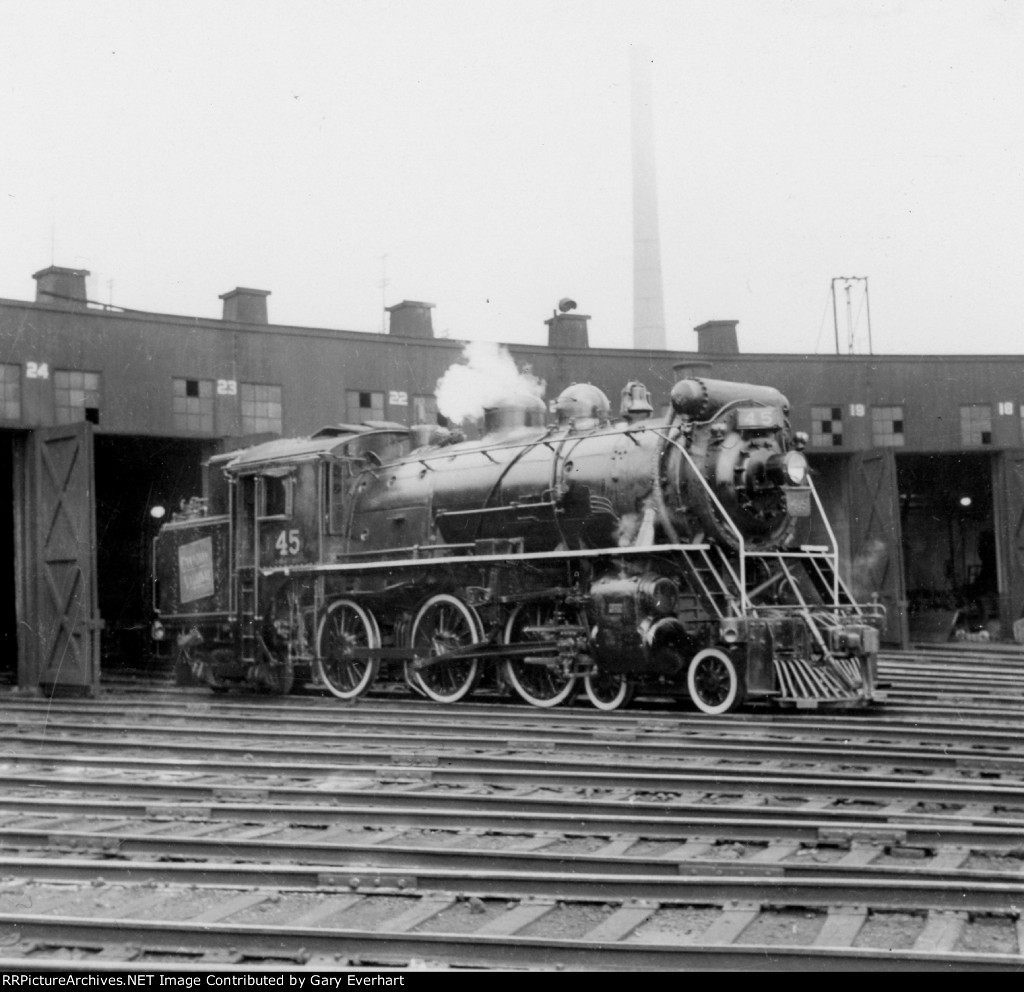 CN 4-6-4T #45 - Canadian National