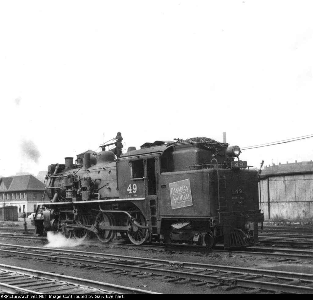 CN 4-6-4T #49 - Canadian National