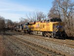 UP 8222 and CSX 3168