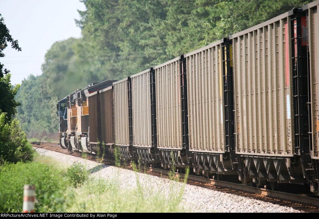 CSX/UP trio run coal