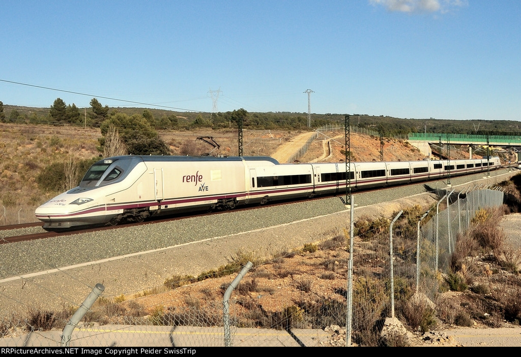 RENFE high speed trains in Spain