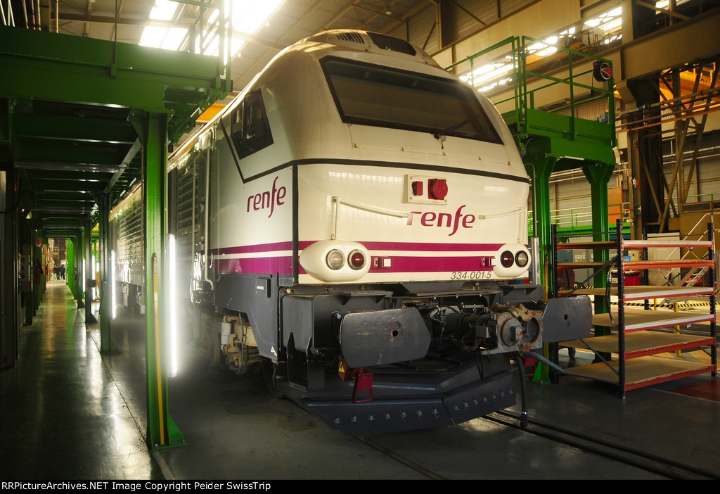 RENFE diesel for passenger services