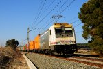 RENFE Mercancías freight trains in Spain