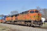 BNSF 5164 On CSX Q 143 Eastbound