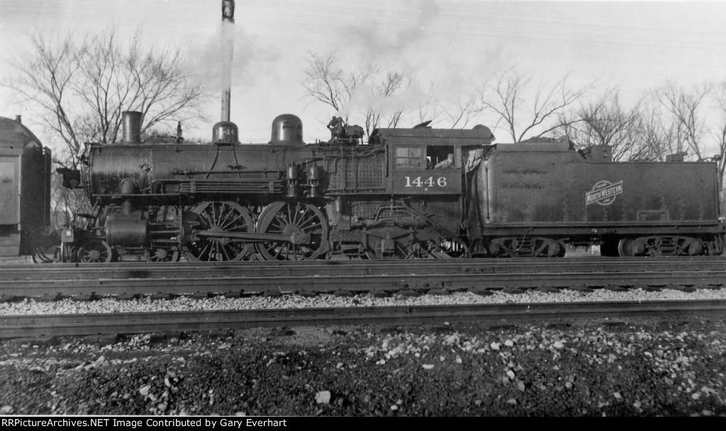 CNW 4-4-2 #1446 - Chicago & North Western