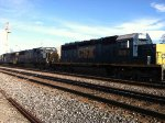 CSX SD40, 50, and 60 servicing the yard at Annapolis Junction MD