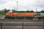BNSF Locomotive 2908 - Temple, TX - 04-19-2017