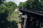 GRR Tracks Heading West -  Bridge At Berry Creek - Weir, TX - 06-07-2017