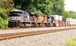 NS 1111, BNSF 5856 and NS 1093 (2)