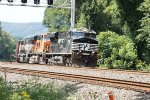 NS 7556, BNSF 7617 and 9809