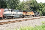 NS 7556, BNSF 7617 and 9809 (2)