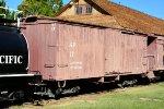 SP narrow gauge boxcar #17