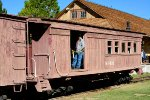 SP narrow gauge coach caboose #401