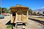 Coach caboose awaiting restoration