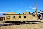 Coach caboose awaiting restoration