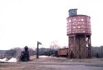 Rail City water tower