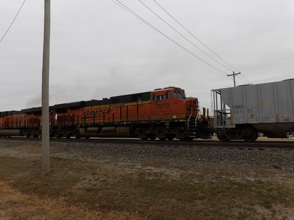 BNSF ES44C4 7970