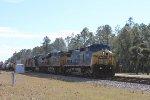 CSX 7881 leads the Q608