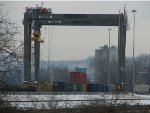 CSX Pittsburgh Intermodal Yard Crane