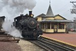 NHIR 40 and the beautiful passenger depot