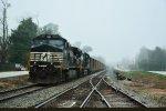 62R waiting in fog