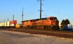 BNSF 6960 and 7686
