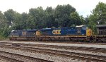 CSX 3179 and 850