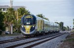 Brightline speeds south