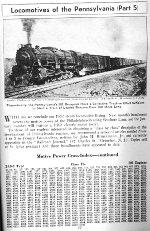 PRR Locomotive Roster, Page 77, NOV 1941