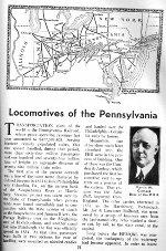 PRR Locomotive Roster, Page 51, JUL 1941