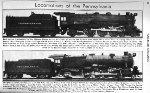 PRR Locomotive Roster, Page 56, JUL 1941