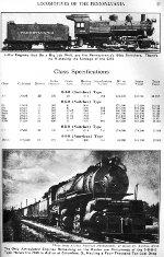PRR Locomotive Roster, Page 57, JUL 1941