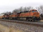 BNSF ES44AC 5855