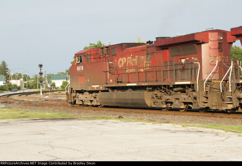 CP 9578 pass by NYC singal