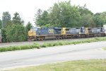 CSX 5391, 7360 and 234