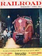 """""""Railroad"""" Magazine, April 1960"""