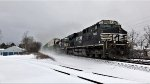 NS 7665 brings the storm with her.