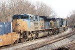 CSX 354, 233 and 4843