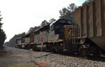 CSX 4076, 1701, and 8099 roll SB