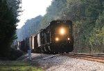 CSX SD40-3 4078 leads a NB local