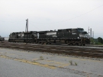 NS 9234 & NS 2685 putting together a consist at Pomona Yard